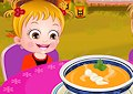 <b>Hazel e la zuppa di zucca - Baby hazel pumpkin soup
