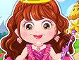 <b>Hazel diventa principessa - Baby hazel royal princess dressup