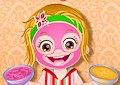 <b>Hazel e la spa in casa - Baby hazel spa makeover