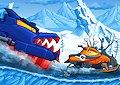 Scappa dalla polizia inverno - Car eats car winter adventure