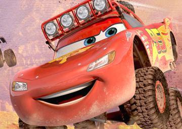 Gioco cars sfida off road for Jeep da colorare