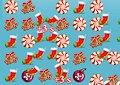 Match simboli natalizi - Christmas matching gd