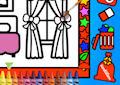 <b>Colora le stanze - Color and decorate rooms