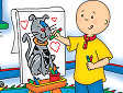<b>Colora Caillou - Coloring with caillou
