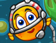 <b>Salvati la faccia spazio - Cover orange journey space