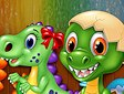 <b>Colora i dinosauri - Dinosaurs coloring book