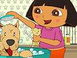 Dora e i cuccioli - Dora pet grooming