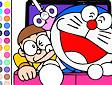 <b>Colora Doraemon e Nobita - Doraemon and nobita coloring
