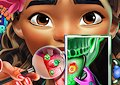 <b>Moana dal dentista - Exotic princess tongue doctor
