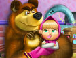 <b>Masha e Orso peluche - Masha and bear toys disaster