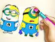 <b>Colora Minions - Minions coloring book