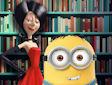 <b>Minion furbetto - Minions lecture hall slacking