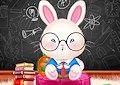 <b>Coniglietto va a scuola - Ollie goes to school