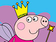 <b>Peppa principessa colorata - Peppa hada coloring