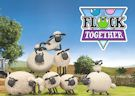 <b>Pecora Shaun palline - Shaun the sheep flock together