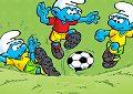 <b>Puffi sfida calcio - Smurf football match