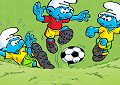 <b>Puffi sfida calcio - Smurf football match