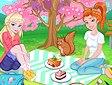 Pic nic con Elsa ed Anna - Spring cherry blossoms