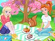 <b>Pic nic con Elsa ed Anna - Spring cherry blossoms