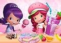 <b>Dolcetti per le bamboline - Strawberry shortcake sweet shop