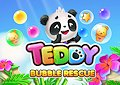 <b>Libera i cuccioli di panda - Teddy bubble rescue