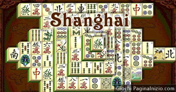 Gioco shanghai for Gioco dello shanghai