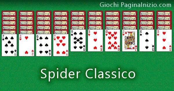gioco spider solitario da
