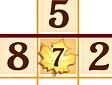 <b>Sudoku autunnale - Fall sudoku