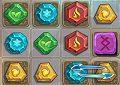 <b>Pietre magiche 3 - Magic stone jewels match 3