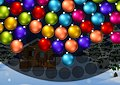 <b>Palline di Natale in orbita - Orbiting xmas ball