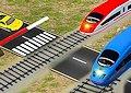 <b>Traffico al passaggio a livello - Railroad crossing 3D