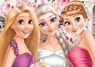 <b>Elsa si sposa - Eliza and princesses wedding
