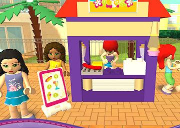 Gioco lego party - Lego friends piscina ...