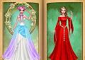 Look principessa Flora - Magic fairy tale princess game