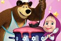 <b>Masha e Orso in cucina - Masha and bear cooking dash