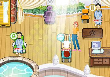 Gioco la spa di sasha for Cabine in piccione forgiano con giochi arcade