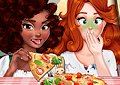 <b>Prepara pizze gourmet - Veggie pizza challenge