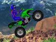 <b>Stunt in montagna - Atv tag race