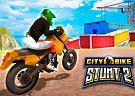 <b>City bike stunt 2