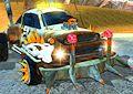 Sfida auto Mad Max - Desert city stunt