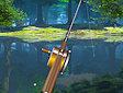 Pesca sul lago - Forest lake fishing