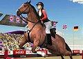 <b>Esibizioni a cavallo 3D - Horse jumping show 3d