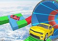 <b>Percorsi stunt impossibili - Impossible car driving 3D
