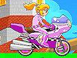 <b>Peach in moto - Peach bike game