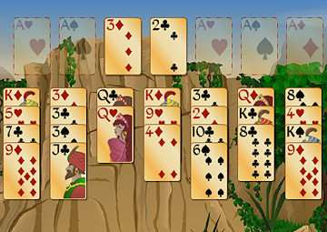 forty thieves solitaire