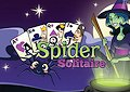 <b>Solitario spider con strega - Witch spider solitaire