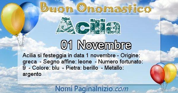 Nome Acilia