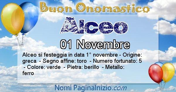 Nome Alceo