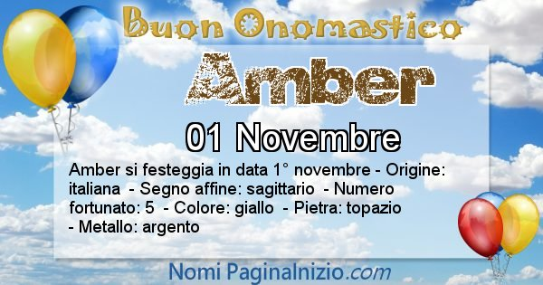 Nome Amber