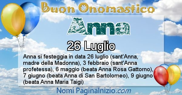 Nome Anna